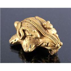 Tairona Gold Effigy Pendant 200-1600 CE