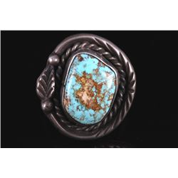 Old Pawn Turquoise Mountain Ring