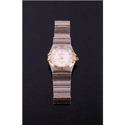 Omega 18K Gold Constellation Womens Watch