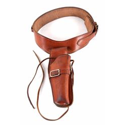 George Lawrence Ammo Belt and Revolver Holster