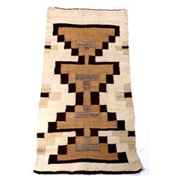Navajo Crystal Pattern Hand Woven Rug