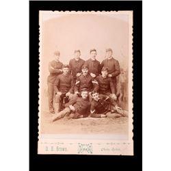 U.S. Cavalry Indian Wars Photograph c. 1870