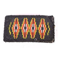 Montana Crow Indian Beaded Buckle