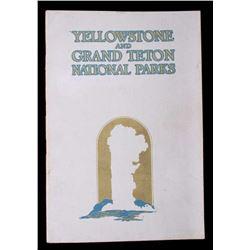 Yellowstone & Teton Park Union Pacific R.R. Advert