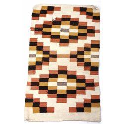 Navajo Native American Crystal Pattern Rug