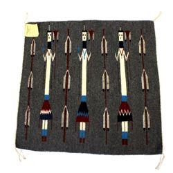 Navajo Native American Crowpoint Rug Weavers