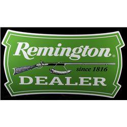 Remington Dealer Advertising Sign