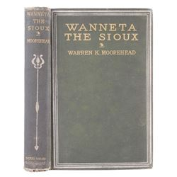 Wanneta the Sioux by Moorehead First Edition 1890