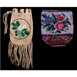 Native American Beaded Pouches