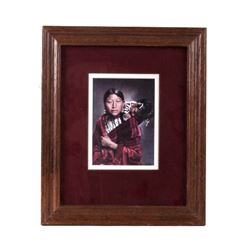 L.A. Huffman Cheyenne Mother and Babe Framed