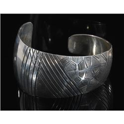 Western Plains Sterling Silver Cuff