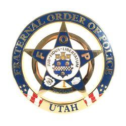 Utah Fraternal Order of Police 20 Years Badge