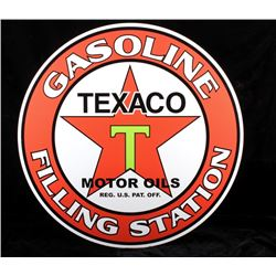 Texaco Motor Oil Advertisement Sign