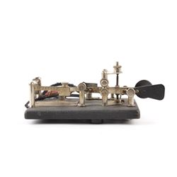 Vibroplex Telegraph Key c. Early 1900's