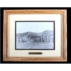 1890 Philipsburg Montana Framed Photograph
