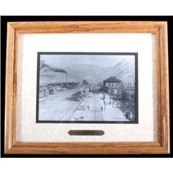 1913 Missoula Montana Framed Photograph