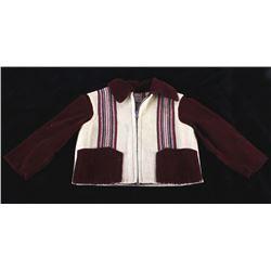 Chimayo Blanket Hand Woven Baby Jacket