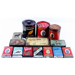 Vintage Tobacco and Cigar Canisters Collection