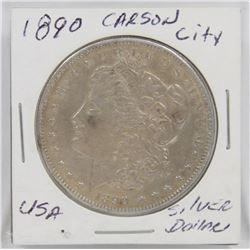 1890 CARSON CITY USA SILVER MORGAN DOLLAR