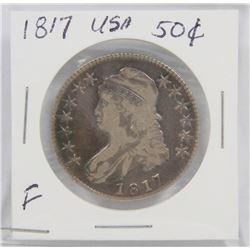 1817 USA SILVER 50¢