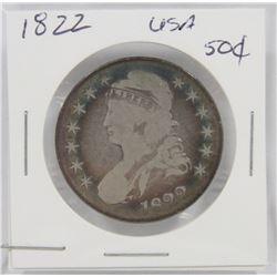 1822 USA SILVER 50¢