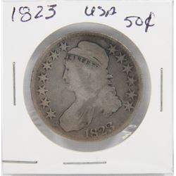 1823 USA SILVER 50¢