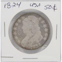 1824 USA SILVER 50¢