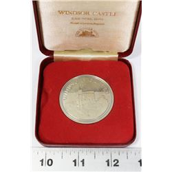 WINDSOR CASTLE SOLID NICKEL SILVER MADE IN LONDON