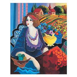Lady in Meadow by Govezensky, Patricia