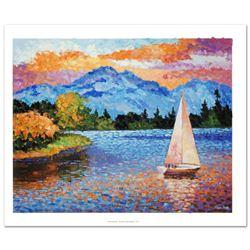 Mountain Lake Sailing by Antanenka, Alexander