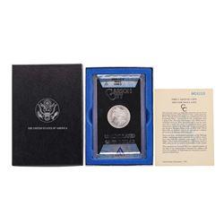 1884-CC $1 Morgan Silver Dollar Coin w/ Box GSA & COA ANACS MS63 VAM-2