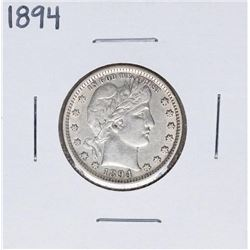 1894 Barber Quarter Coin