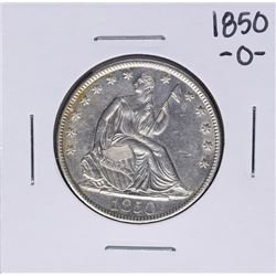 1850-O Seated Liberty Half Dollar Coin