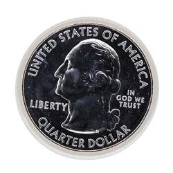 2010 5oz Silver ATB Yellowstone Wyoming Silver Coin