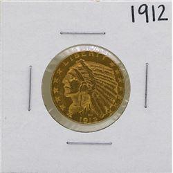 1912 $5 Indian Head Half Eagle Gold Coin