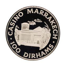 Casino Marrakech 20.2 gram .925 Sterling Silver Gaming Token