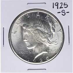 1925-S Peace Silver Dollar Coin