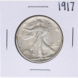 1917 Walking Liberty Half Dollar Coin
