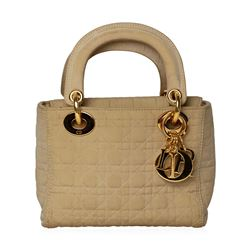 Christian Dior Nude Mini Lady Dior Bag