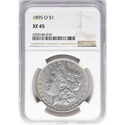 1895-O $1 Morgan Silver Dollar Coin NGC XF45