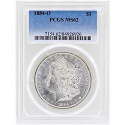 1884-O $1 Morgan Silver Dollar Coin PCGS MS62