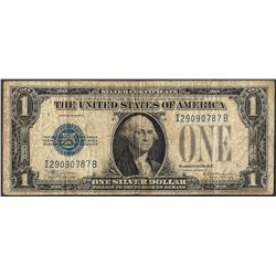 1928D $1 Funnyback Silver Certificate Note