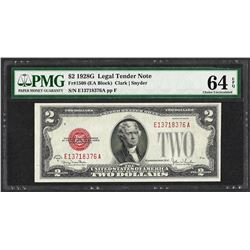 1928G $2 Legal Tender Note Fr.1508 PMG Choice Uncirculated 64EPQ