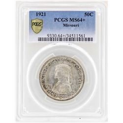1921 Missouri Centennial Commemorative Half Dollar Coin PCGS MS64+