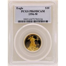 1996-W $10 American Gold Eagle Coin PCGS PR69DCAM