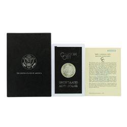 1883-CC $1 Morgan Silver Dollar Uncirculated Coin GSA w/ Box & COA