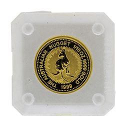 1999 $15 Australia 1/10 oz. Gold Nugget Coin
