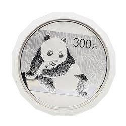 2015 China 300 Yuan Kilo Silver Panda Proof Coin