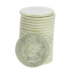 Roll of (20) 1885 Brilliant Uncirculated Morgan Silver Dollar Coins