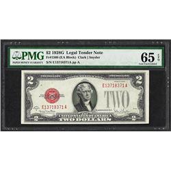 1928G $2 Legal Tender Note Fr.1508 PMG Gem Uncirculated 65EPQ